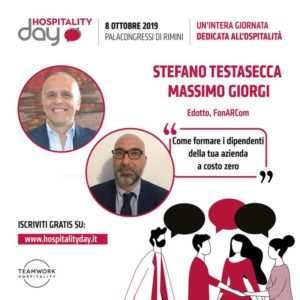 FonARCom all'Hospitality Day Rimini 2019