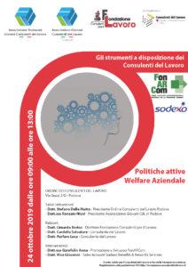 Strumenti per Consulenti del Lavoro Padova 24 ottobre 2019
