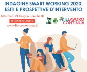 Evento presentazione dati Indagine Smart Working 2020 - 24 giugno