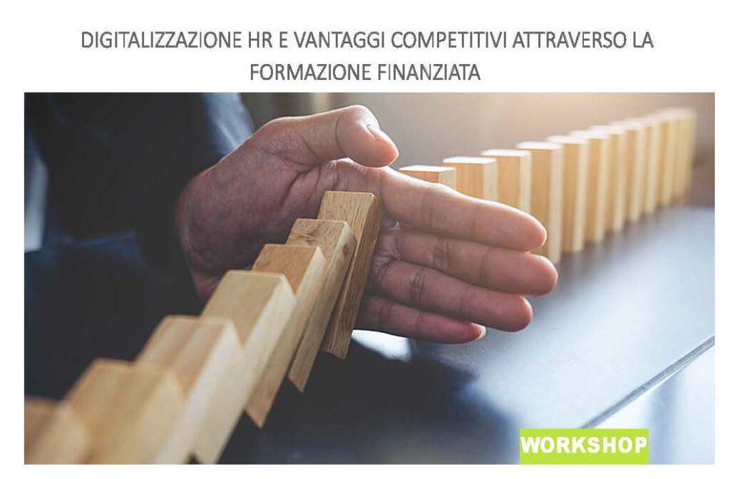 Digitalizzazione HR e i vantaggi della formazione finanziata
